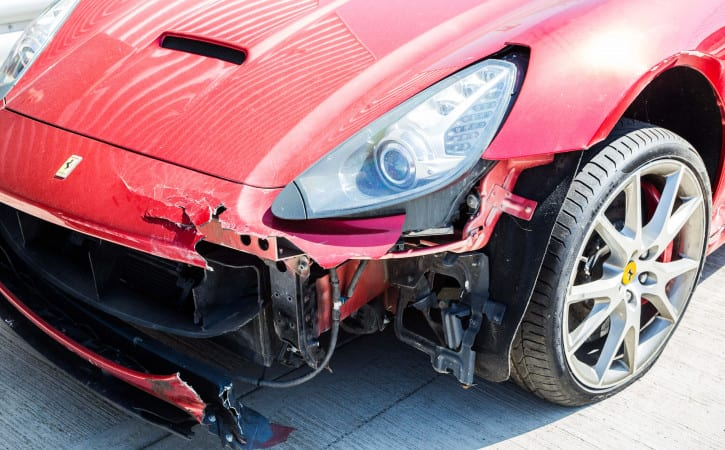 Ferrari-California-GVE-London-Accident-Repair
