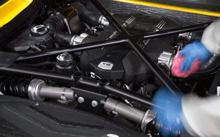 Lamborghini-Aventador-Engine-Bay-V12-GVE-London-SUPERCAR-CORRECTION-DETAILING-SERVICES