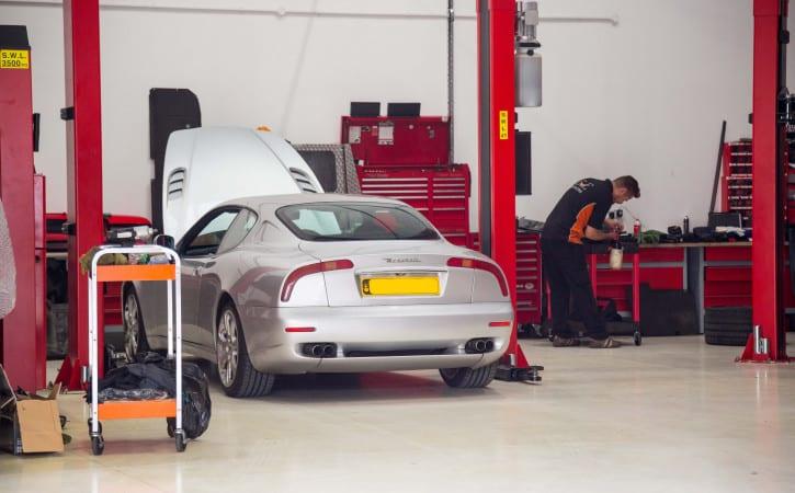 Maserati-Servicing-GVE-London