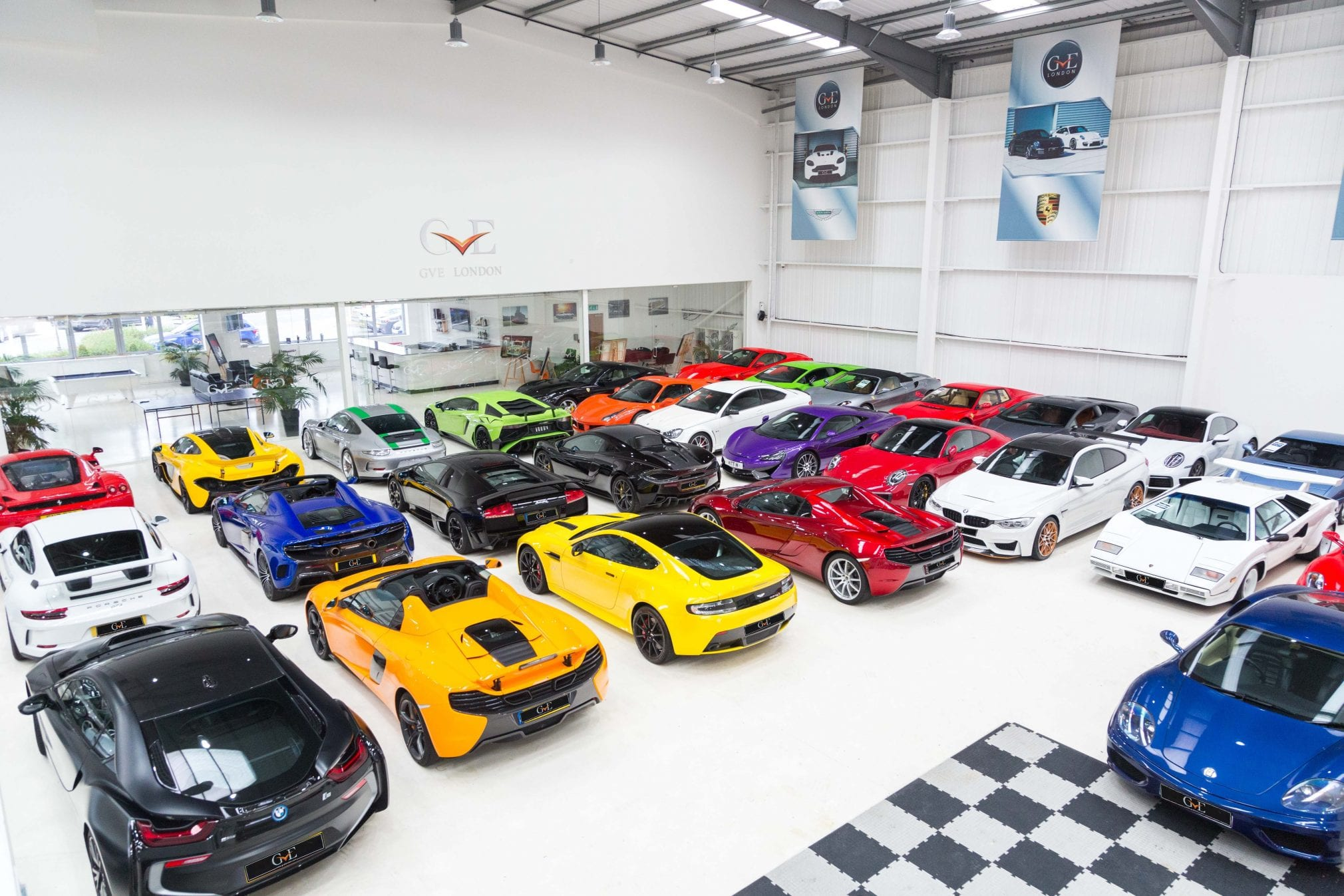 GVE London Supercar Storage | Store and Protect | West London