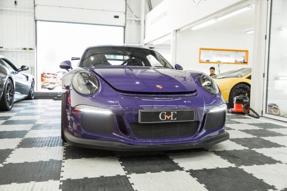 Porsche GT3 RS Paint Protection Film GVE Detailing West London