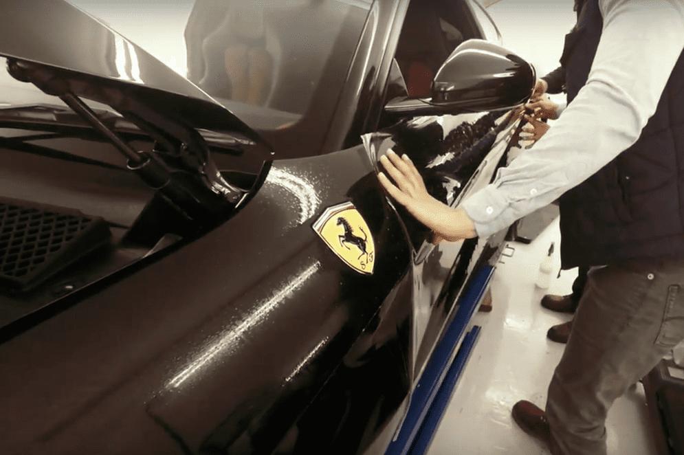 Ferrari F12 Paint Protection Film