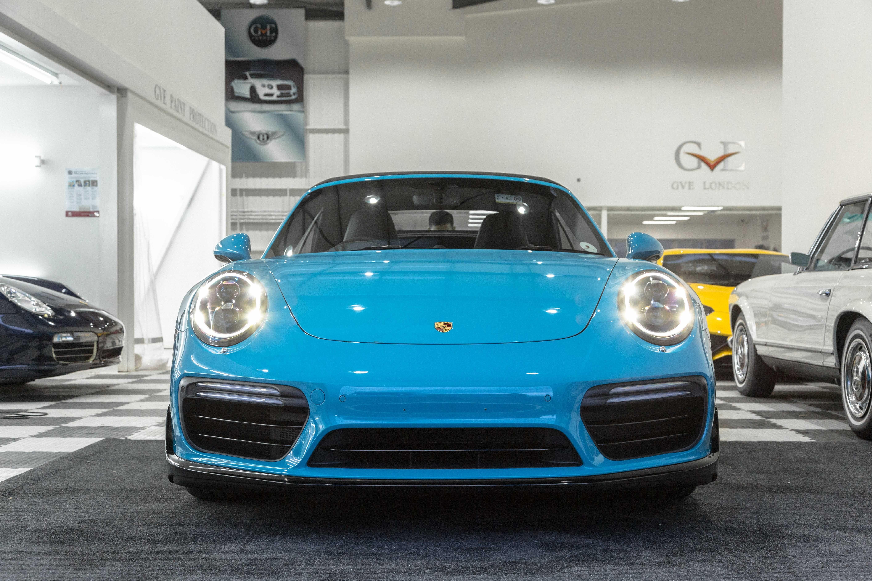 Porsche 911 Turbo S Paint Protection Film