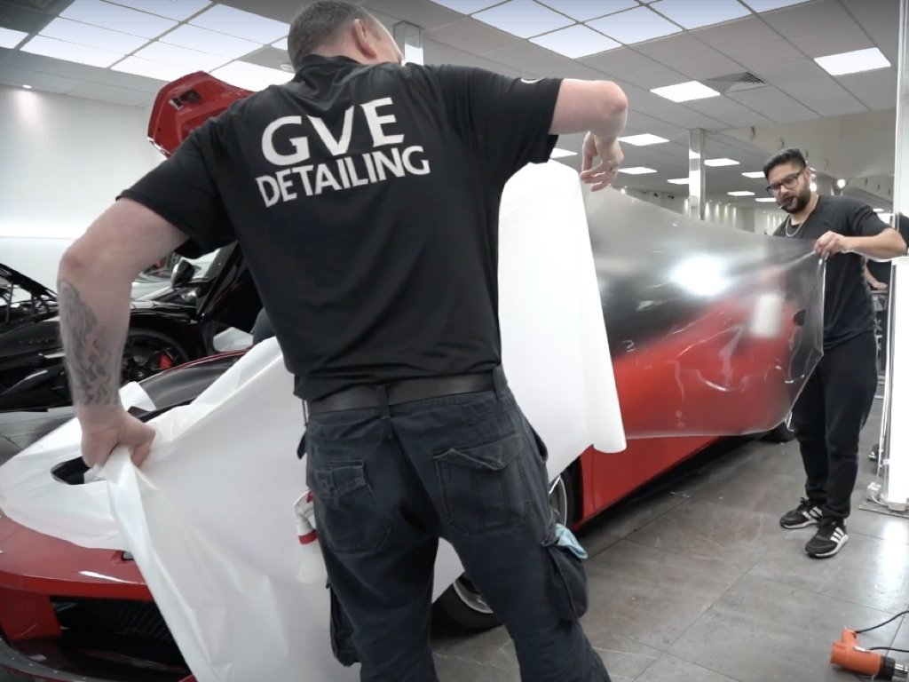 Ferrari 488 GTB Paint Protection Film