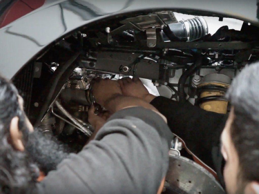 Novitec Exhaust on a Ferrari 488 Pista