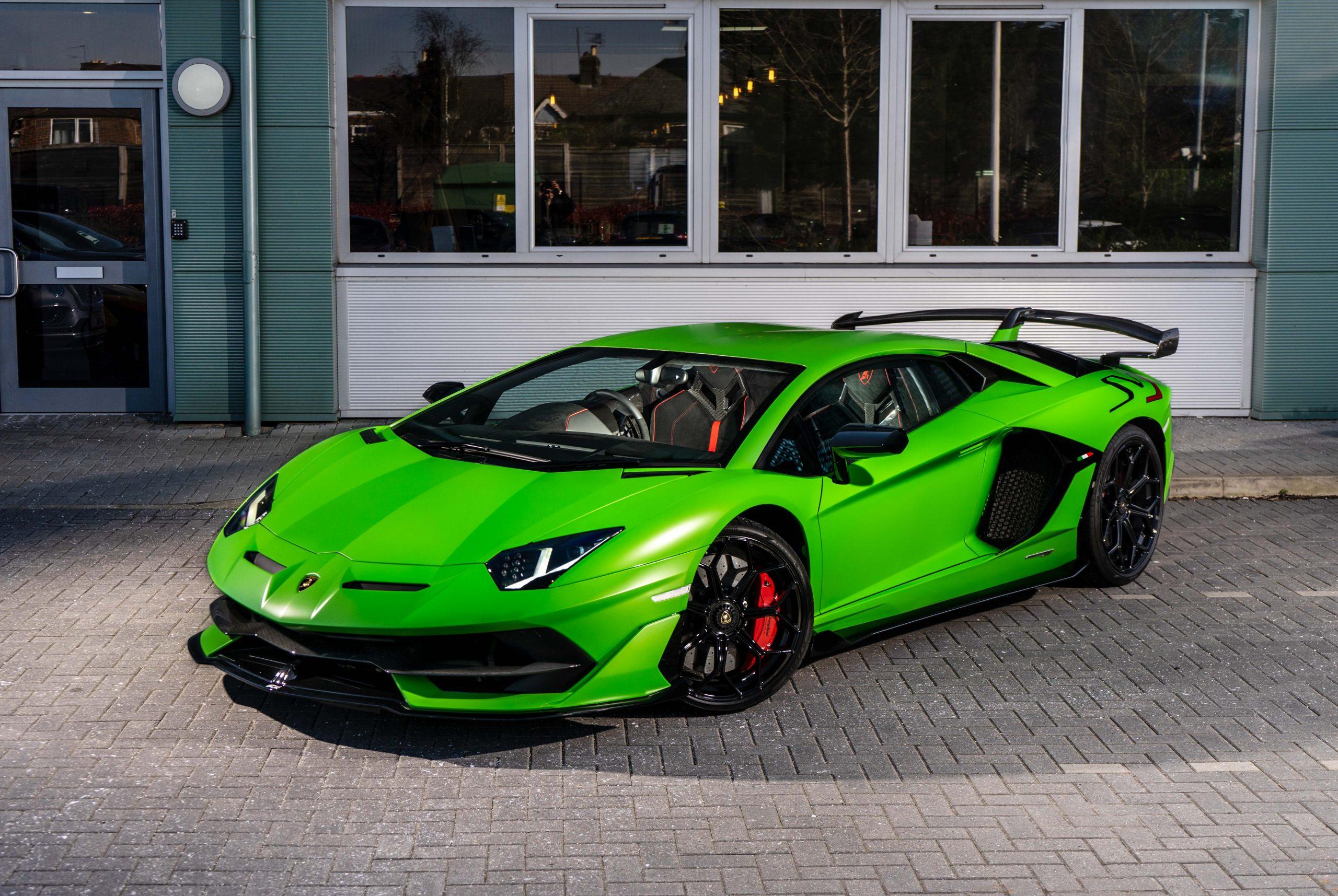 Green Lamborghini Aventador SVJ | Largest Supercar Dealership in the UK