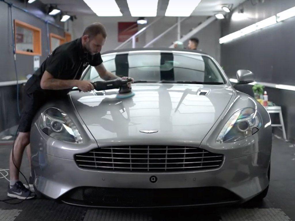 Aston Martin Virage Detail & PPF | GVE Detailing | XPEL West London