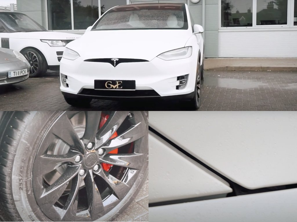 White Tesla Model X Stealth PPF | GVE Detailing | XPEL West London