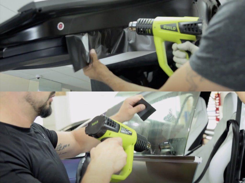 Tesla Model X Vinyl Wrap Transformation | GVE Customs | West London