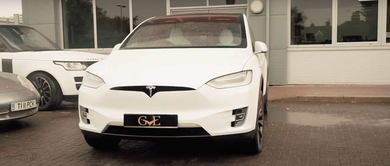 White Tesla Model X Stealth PPF | GVE Detailing | XPEL West London