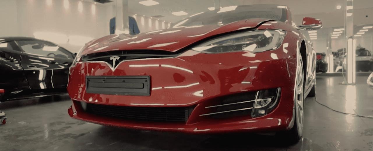 Tesla Model S Front End PPF | GVE Detailing | West London