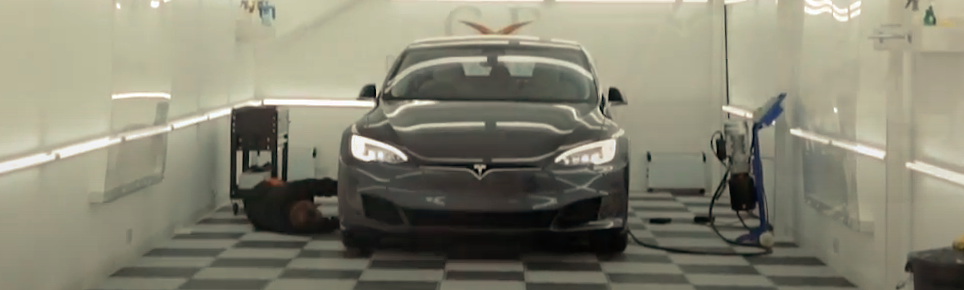 Tesla Model S Correction Detail, PPF & Hydrophobic Coating | XPEL