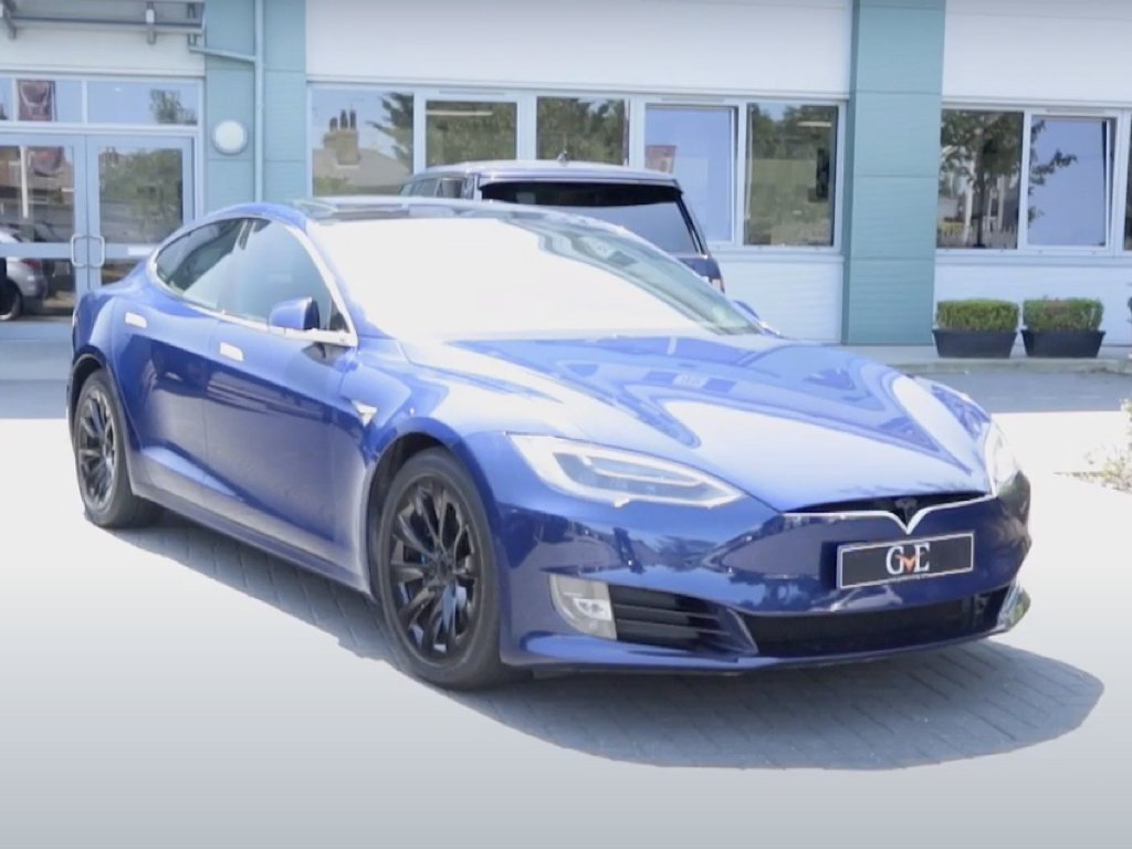 Tesla Model S Respray | GVE Bodyshop | West London Performance Cars
