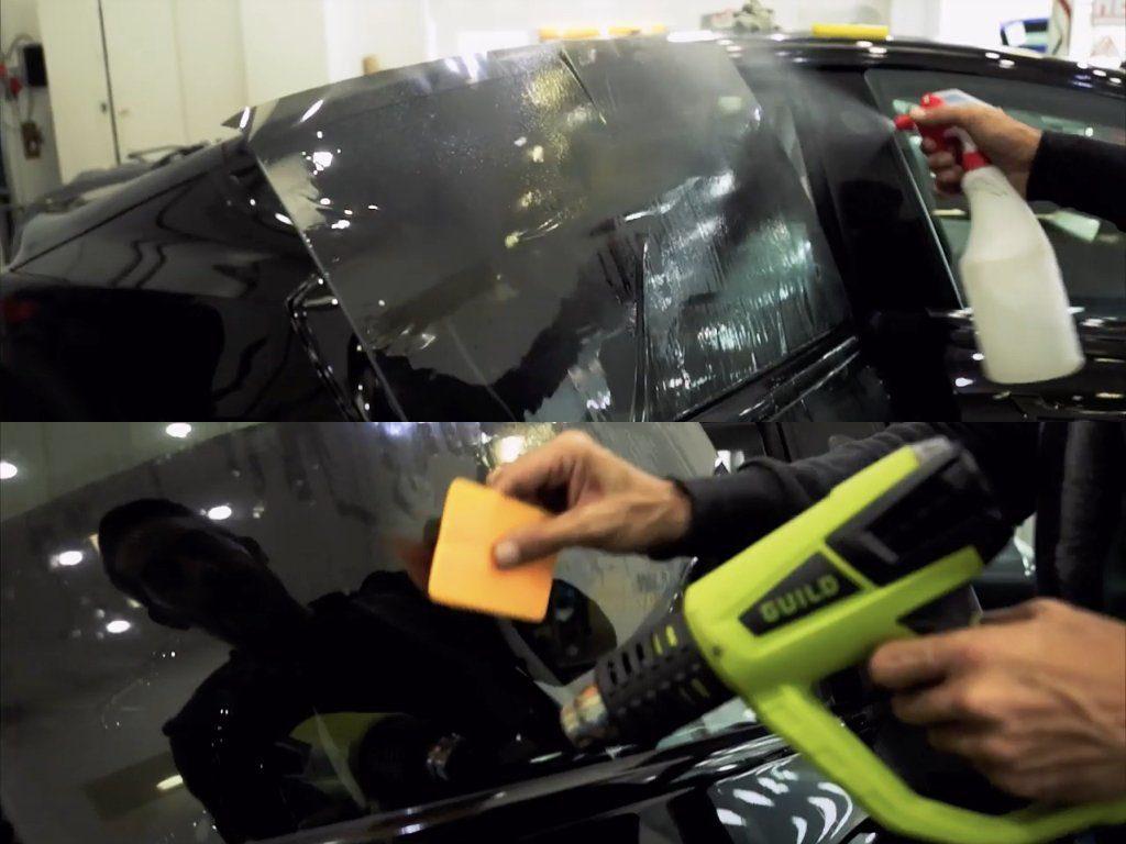 Tesla Model 3 De-chrome & Window Tints   GVE Customs   West London