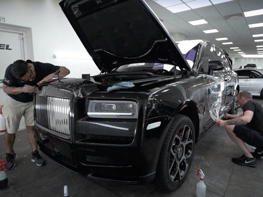 Rolls-Royce Cullinan PPF