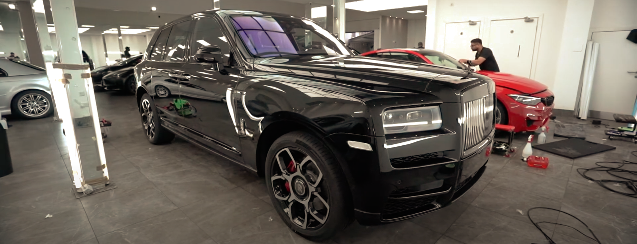 Rolls-Royce Cullinan PPF | GVE Detailing | XPEL Installers London