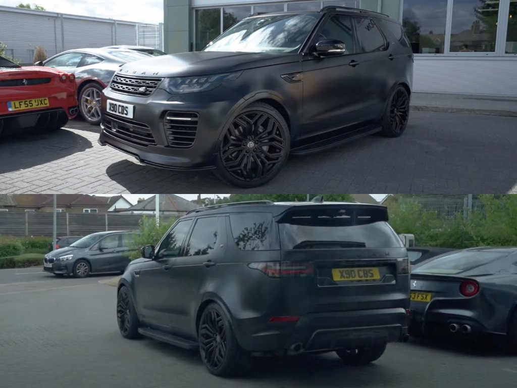 Satin Black Urban Discovery   Vinyl Wrapping West London