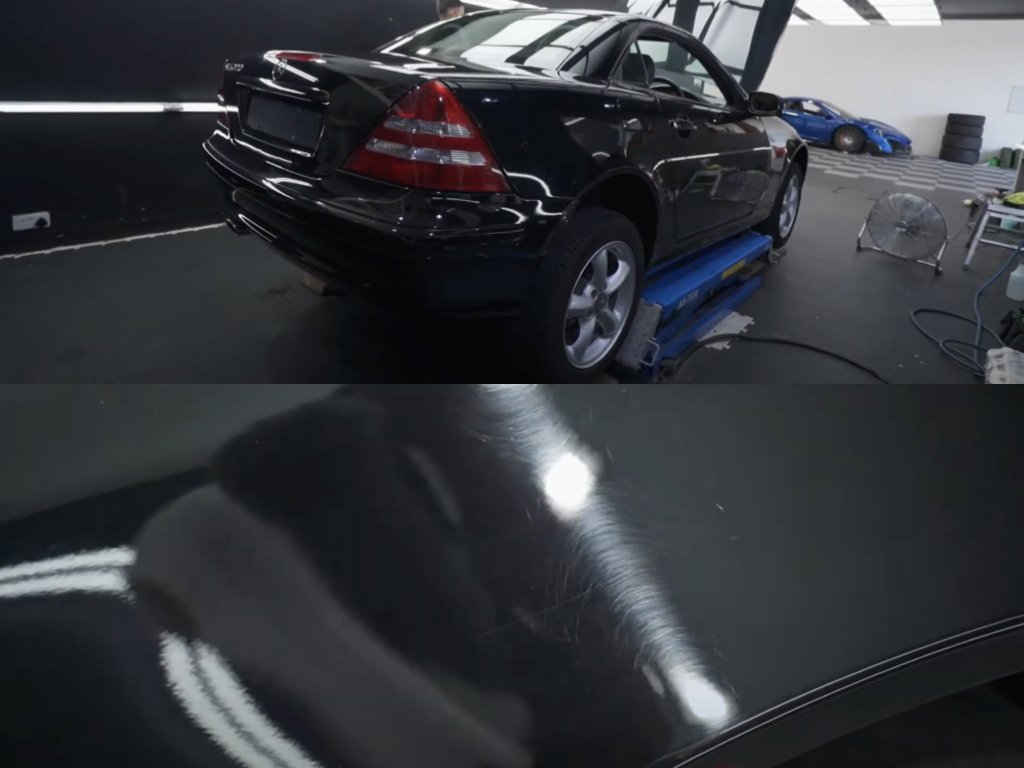 Mercedes SLK 2 Stage Detail | GVE Detailing | Gtechniq West London