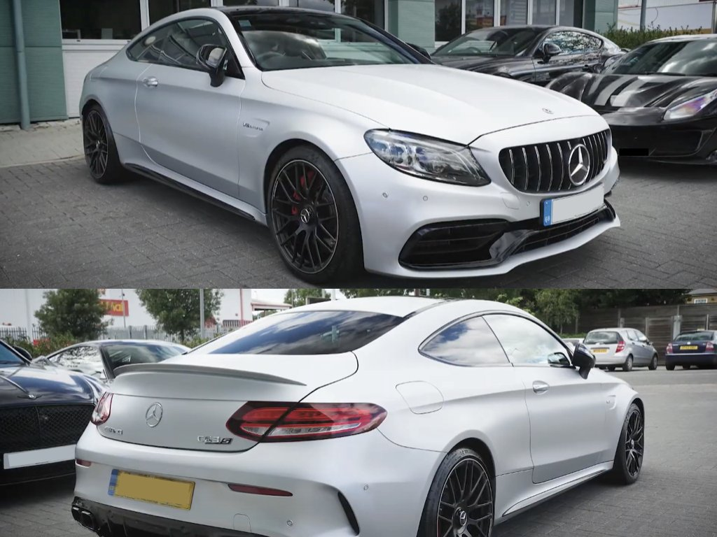 Mercedes AMG C63 Satin PPF | West London Paint Protection Film