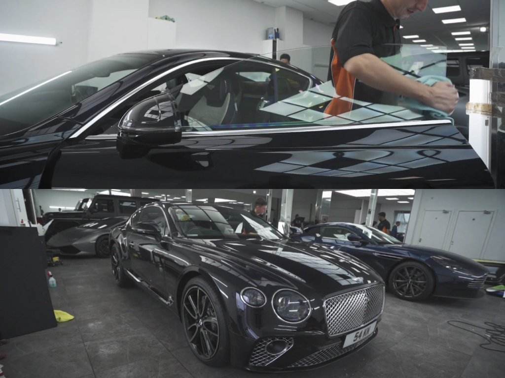 Bentley Continental GT XPEL PPF | West London Paint Protection Film