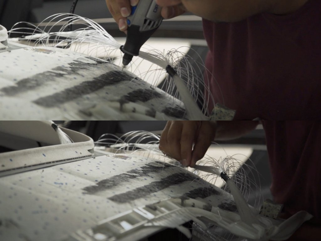 Mercedes S500 Starlight Headliner Installation | GVE Customs