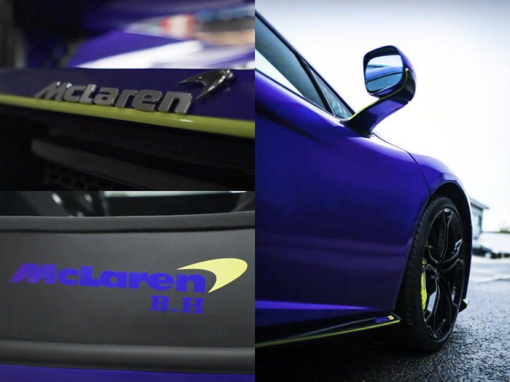 McLaren 650S Purple Wrap | GVE Customs | Vinyl Wrapping West London