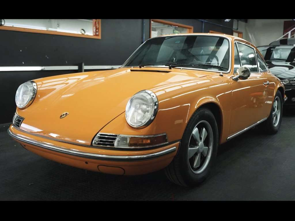 Porsche 911 T PPF | GVE Detailing | XPEL West London