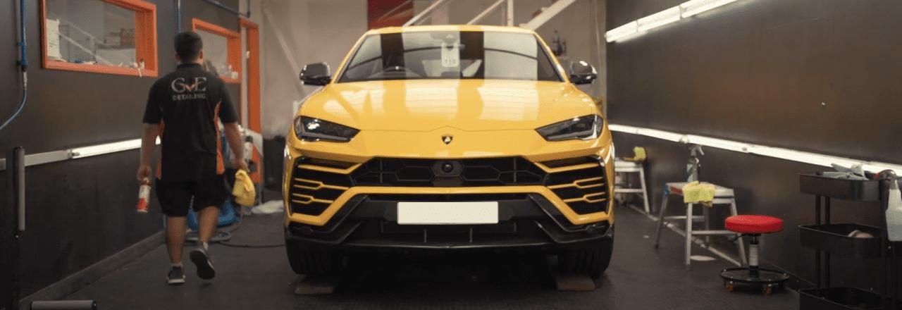 Lamborghini Urus PPF & Ceramic Coating | GVE Detailing | West London