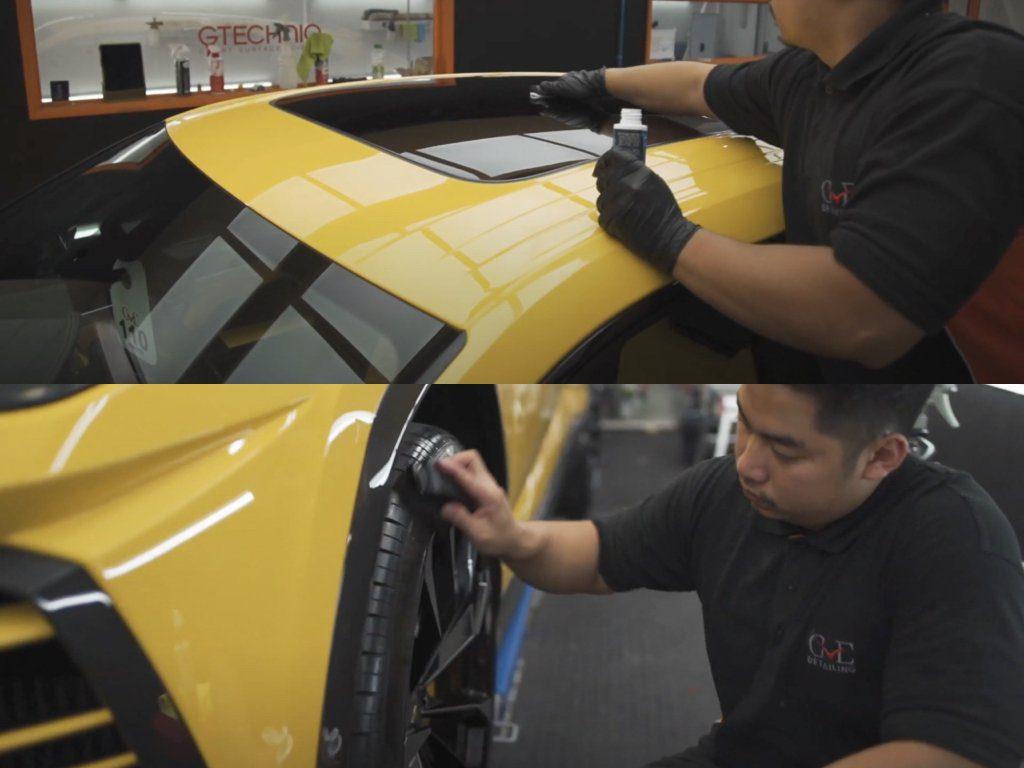 Lamborghini Urus PPF & Ceramic Coating   GVE Detailing   West London