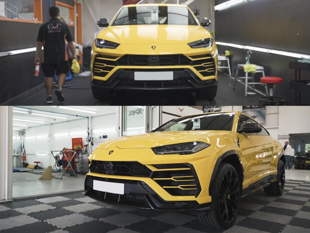 Lamborghini Urus PPF & Ceramic Coating | GVE Detailing | West London