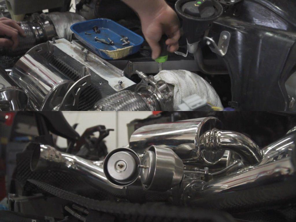 McLaren 720s Capristo Exhaust Installation | McLaren Servicing