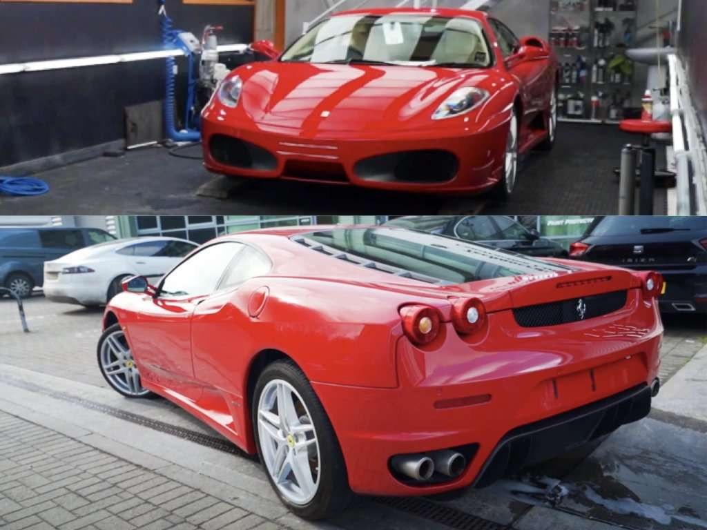 Protecting a Ferrari 458 Spider and F430!